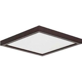 "Canarm LED-SM8DL--C Light 7-3/4"" Wide Integrated LED Outdoor Flush Mount Ceiling Fixture"