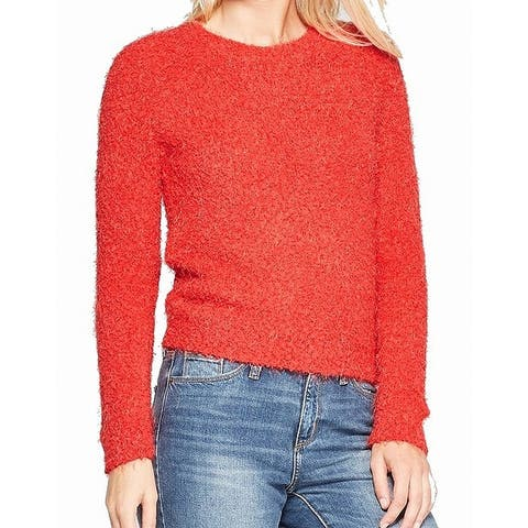 Living Doll Red Womens Size Large L Pullover Crewneck Sweater
