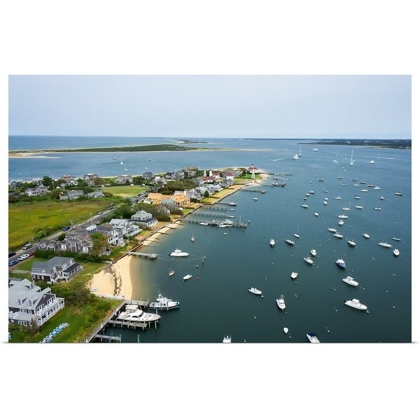 """Brant Point, Nantucket"" Poster Print"