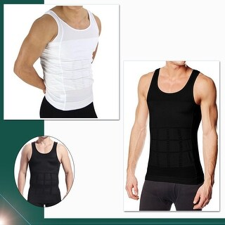Compression Under Shirt Effective Posture and Back Support Breathable Material