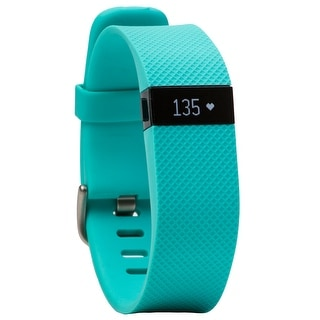 Fitbit Charge HR Activity, Heart Rate + Sleep Wristband (Large, Teal)