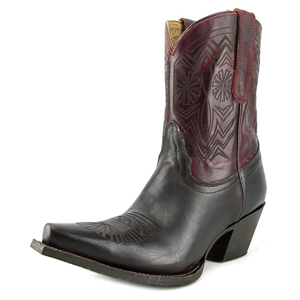 Tony Lama VF6026 Women Pointed Toe Leather Brown Western Boot