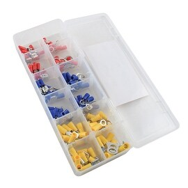 Pilot Automotive Assorted Ring and Disconnet Terminal Kit (Box of 120)