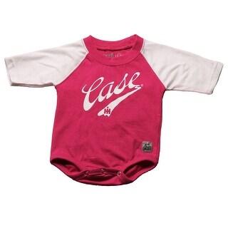 Case IH Baby Girl's Printed Onesie