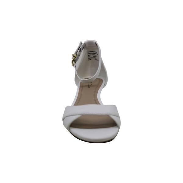 Charter Club Womens Ondreaa Split Toe Casual Mule Sandals