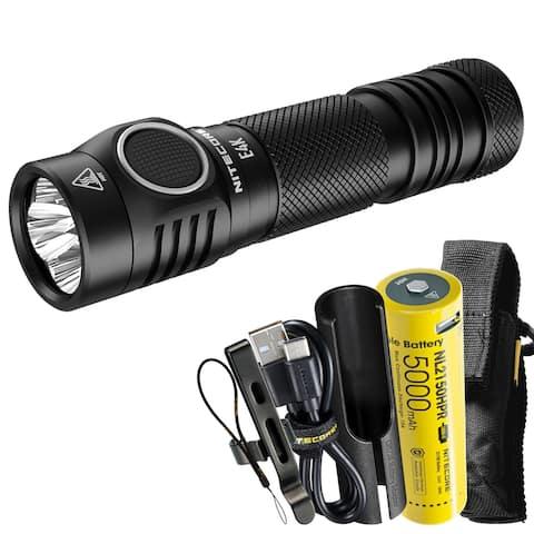 NITECORE E4K Next Generation 21700 Compact EDC Flashlight