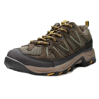 Northside Cheyenne Jr Hiking Youth Round Toe Leather Brown Hiking Shoe