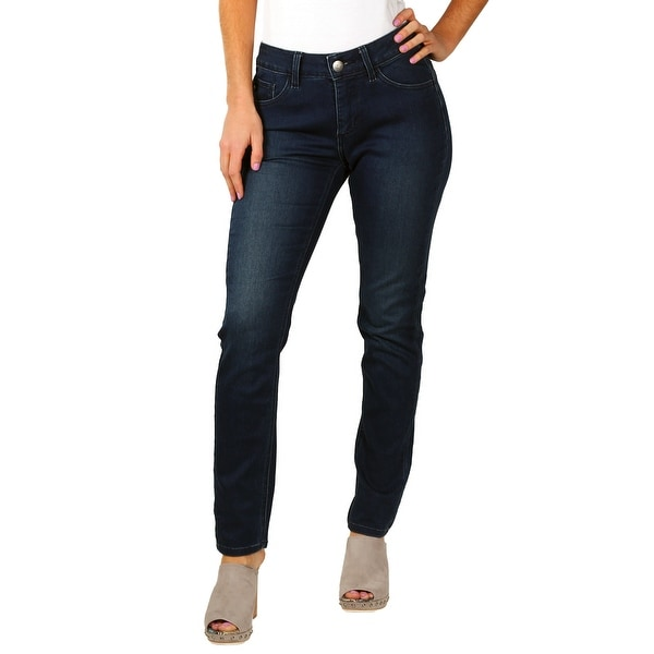 "Lee Misses Platinum Label ""Serenity"" Skinny Stretch Easy-Fit Jeans"