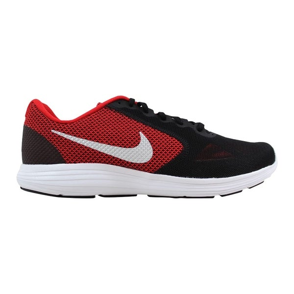 6fa48d98bf7 Shop Nike Revolution 3 University Red Metallic Silver 819300-600 Men s -  Free Shipping Today - Overstock - 21893316