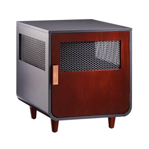 Staart - Radius Wooden Dog Crate - Mocha Walnut - Medium
