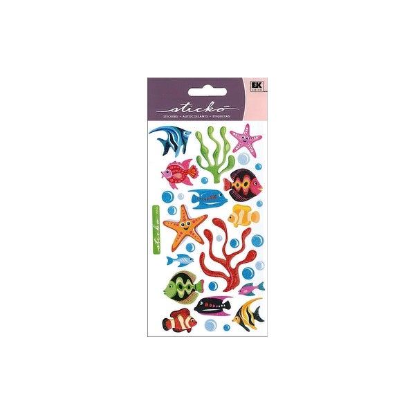 EK Sticko Sticker Vellum Tropical Fish