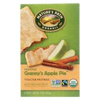 Nature's Path Organic Frosted Toaster Pastries - Granny's Apple Pie - Case of 12 - 11 oz.