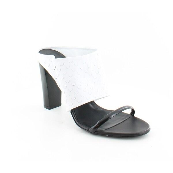 Alexander McQueen Sabot Women's Heels White - 10.5