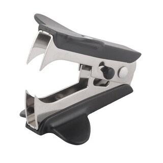 Unique BargainsPlastic Mini Portable Jaw Style Stapler Remover Black for Home Office School