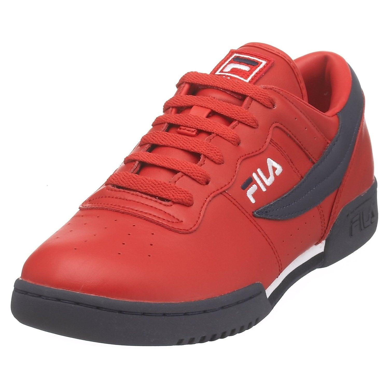 FILA Heritage Original Fitness Low Sneakers WhiteNavyRed