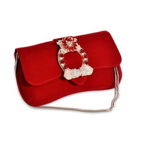2019 New Diamond Velvet Handbag Clutch