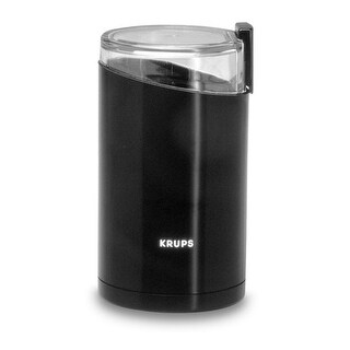 Krups F2034251 Fast-Touch Coffee Grinder, 3 Oz, Black