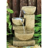 Design Toscano Villa Fortino Cascading Garden Fountain