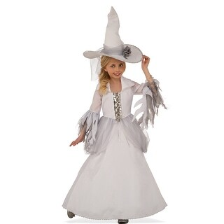 Girls White Witch Halloween Costume
