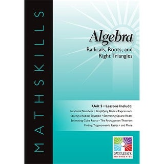 Saddkeback Educational Publishing Radicals Roots And Right Triangle