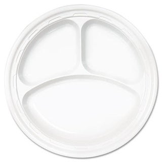 Famous Service Plastic Dinnerware- Compartmented Plate-10