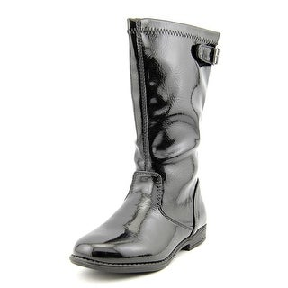 Kenneth Cole Reaction Heart Treat 2 Youth Synthetic Black Mid Calf Boot