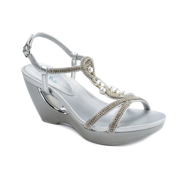 Andrew Geller ALLISANDRA Women's Sandals Silver