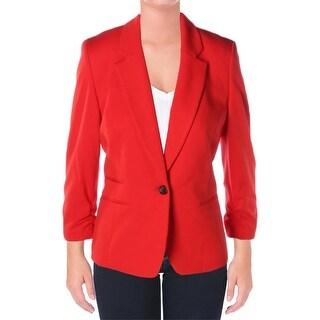Nine West Womens Jacket Solid Long Sleeves - 10