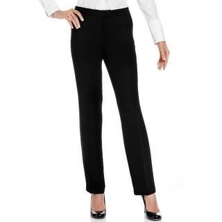 Jones New York NEW Black Women's 8 Tab Front Straight Leg Dress Pants|https://ak1.ostkcdn.com/images/products/is/images/direct/95b43d343f5584994b76604b0380dbc57e551a5a/Jones-New-York-NEW-Black-Women%27s-8-Tab-Front-Straight-Leg-Dress-Pants.jpg?impolicy=medium