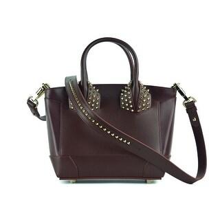 Christian Louboutin Womens Eloise Small Leather Burgundy Cross-Body Bag