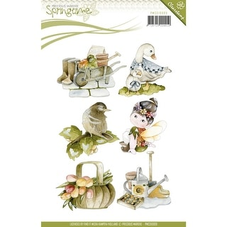 Find It Trading Precious Marieke Clear Stamp-Springtime