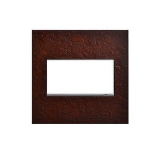 Legrand AWM2GHFMH1 adorne Hubbardton Forge 2 Gang Hand-Forged Metal Wall Plate - 5.3 Inches Wide