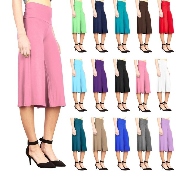 Cropped Wide Leg Lounge Pant. Opens flyout.