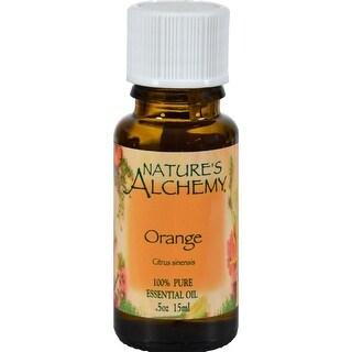 Nature's Alchemy 100% Pure Essential Oil Orange - 0.5 fl oz