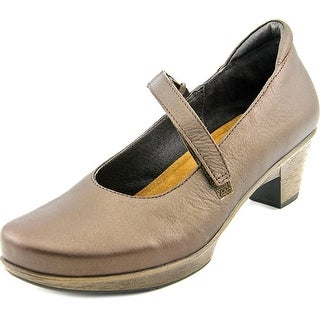 Naot Muse Women Round Toe Leather Brown Mary Janes