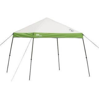 Coleman 10 ft x 10 ft Instant Wide Base Canopy Shelter  sc 1 st  Overstock.com & Coleman Tents u0026 Outdoor Canopies For Less | Overstock.com