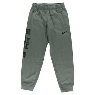 Nike Boys LeBron Cuffed Basketball Pants Grey - Grey/Black - L