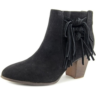 Fergalicious Clover Women  Round Toe Suede  Ankle Boot