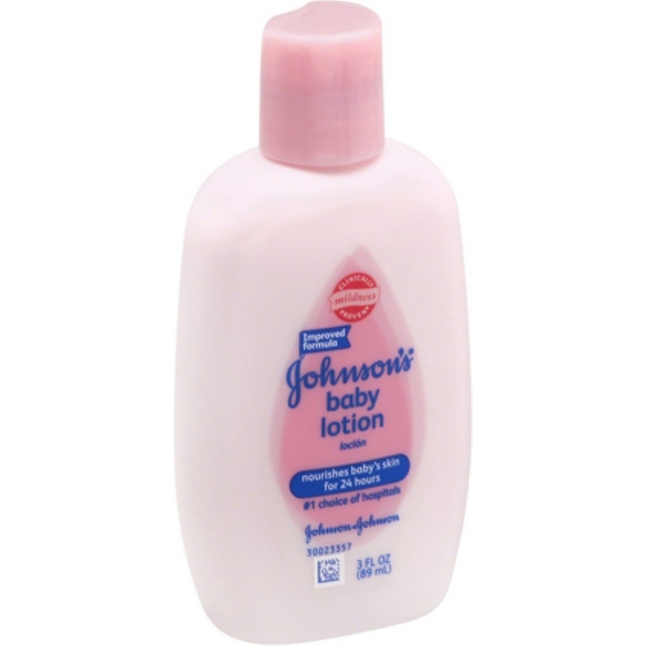 JOHNSON'S Baby Lotion 3 oz