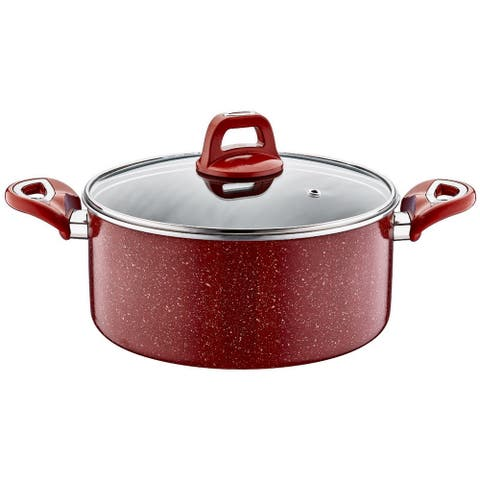 Hapy Non-Stick Stainless Steel Soup Pot with Lid
