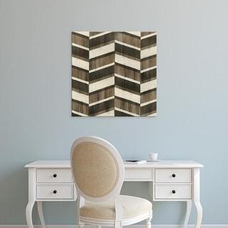 Easy Art Prints June Erica Vess's 'Driftwood Geometry VII' Premium Canvas Art