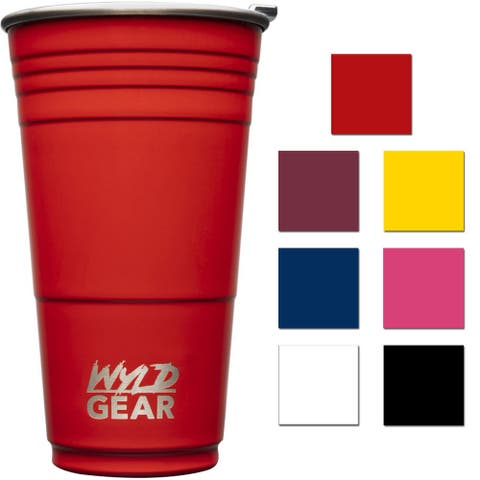 Wyld Gear 24 oz. Insulated Stainless Steel Party Cup Tumbler - 24 oz.