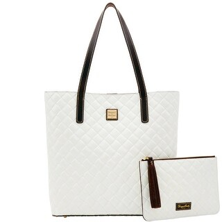 Dooney & Bourke City Woven Waverly Tote & Carrington Pouch (Introduced by Dooney & Bourke at $298 in Sep 2017)