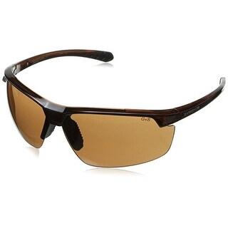 Gargoyles Men's Stakeout Sunglasses Brown Frame/Brown Lens