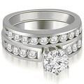 1.95 cttw. 14K White Gold Round Cut Diamond Engagement Set - Thumbnail 0