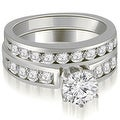 1.95 cttw. 14K White Gold Round Cut Diamond Engagement Set - Thumbnail 0