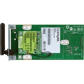"""Lexmark 27X0903 Lexmark MarkNet 8350 802.11b/g/n Wireless Print Server (MX51x/611) - Wi-Fi - IEEE 802.11n - USB - Plug-in"
