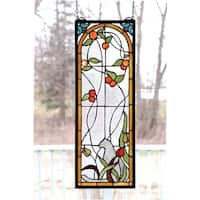 Meyda Tiffany 67117 Stained Glass Tiffany Window from the Arts & Crafts Collection - n/a