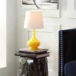 Safavieh Kids Lighting 18 Inch Amy Yellow Mini Gourd Table Lamp 9 X9 X17 5 On Sale Overstock 11600890