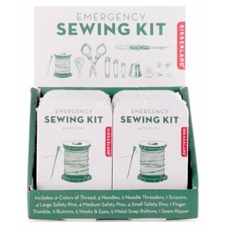 Kikkerland Design 247593 Emergency Sewing Kit